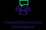 Imagesteigerung als Arbeitgeber, CSR-Icon